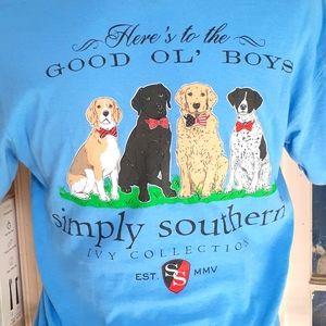 Simply Southern here's to the good old boys size s